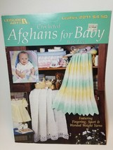 Leisure Arts #2211 Crocheted Afghans for Baby Book Five 7 Patterns - $9.85