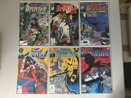 Lot of 6 Detective Comics (1937 1st Series) #613-618 NM Near Mint - $21.78