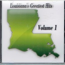 LOUISIANA'S GREATEST HITS volume 1 Various Louisiana Artists.. 24 Hits audio CD - $19.95