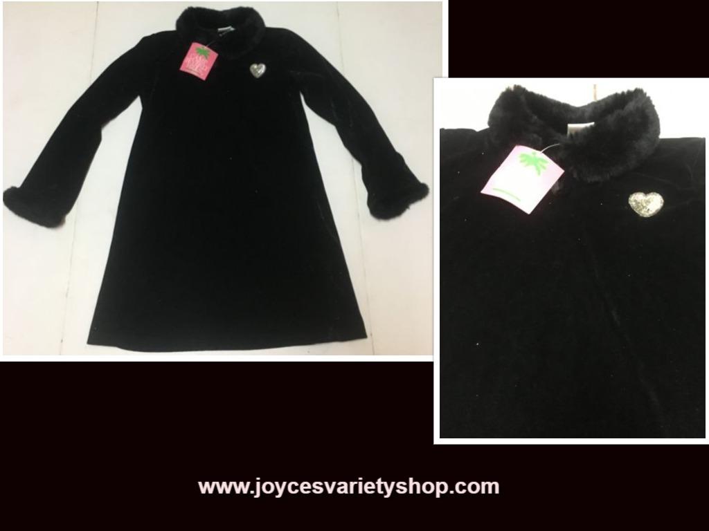 Camp black dress web collage