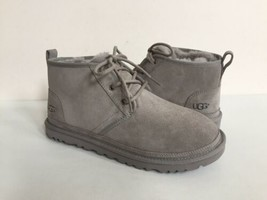 UGG WOMEN NEUMEL SEAL FULLY LINE SHEARLING SUEDE SHOE US 11 / EU 42 / UK 9 - $126.23