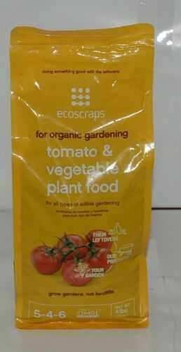 Ecoscraps PFTV174404 02 Organic Gardening Tomato Vegetable Plant Food