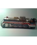 """Vintage """"PISTON SILVER MOUNTAIN"""" Metal Toy Train - Not Working  - $18.00"""