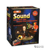Science Wiz - Sound Build Your Own Edison Style Phonograph - $24.96