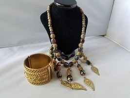 Femmes Bijoux Tendance Bohémien Tribal Indien Égyptien Collier de Perles & - $35.19