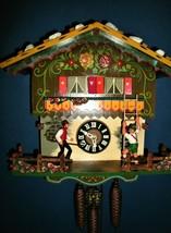 Vintage Farmers Daughter Musical Cuckoo Clock #7 - $249.00