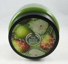 (2) The Body Shop Limited Edition Juicy Pear Sugar Body Scrub 10.5oz New - $37.98