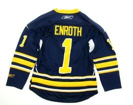 Jhonas Enroth Replica Buffalo Sabres Jersey Sewn Home Blue Size Small **... - $49.45