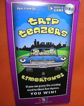 SBG Trip Teazers Limericks! Audio CD Game UPC:8... - $9.90
