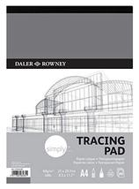 Daler Rowney Tracing Pape Pad A4 Size 40 Sheets - $14.84