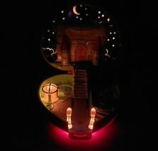Vintage 1992 Bluebird Polly Pocket Light Up Starlight Castle Works Playset Toy - $83.22