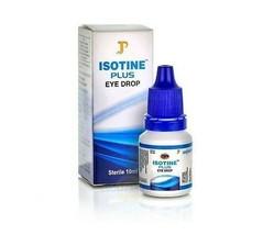ISOTINE PLUS EYE DROPS 10ml CATARACT, METROPIA, HYPERMETROPIA | BUY 2 GE... - $4.94