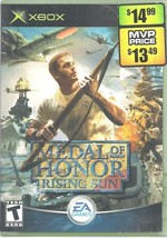 Medal of Honor: Rising Sun Microsoft Xbox 2003 Game Case and Manual - $2.89