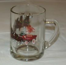Verre Budweiser Champion Clydesdales avec Poignée Bière / Café Tasse Verre - $21.36
