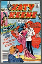 Katy Keene #20 1987-Valentines cover-spicy poses-GGA-fashions-pin-ups-FN - $31.53
