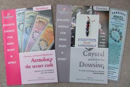 PISCES - Handmade birthstone dowsing pendulum plus  2 great books & a bo... - £5.93 GBP