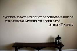 Albert Einstein Inspirational Teacher Classroom Quote Vinyl Sticker Decal (b) - $14.99+