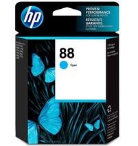 HP 88 Cyan (blue) Ink Cartridge, C9386AN New - $39.99