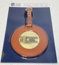 PGA Tour Partners Club Life Member Genuine Leather Golf Bag Tag New With... - $16.89