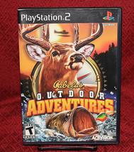 Cabela's Outdoor Adventures PS2 COMPLETE CIB Activision - $7.84