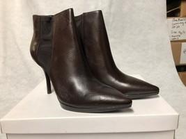 Calvin Klein Weslynn Calf Boots Dark Brown (Women's) Size 10M - $197.88
