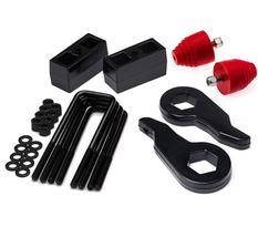 """For 00-10 GMC Sierra 1500 2500 3500HD Level Kit 1-3"""" Front 1"""" Rear w/ Bump Stops - $184.25"""
