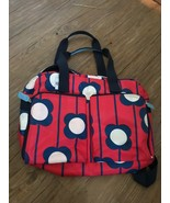 Orla Kiely for Target Red Floral Weekend Travel Gym Diaper Bag - $29.69