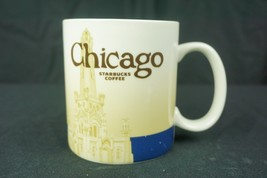 Starbucks Chicago Global Icon City Collector Series Coffee Mug Cup 16oz ... - $24.70