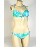 Rampage Swim 2 Piece Blue & Green  Bikini Swim Suit Womans NWT $94 - $56.24