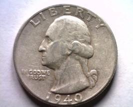 1940-S WASHINGTON QUARTER EXTRA FINE+ XF+ EXTREMELY FINE+ EF+ NICE ORIGI... - $14.00