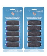 5 Extra Coarse & 5 Regular Coarse Replacement Roller Refill Heads for Am... - $20.33