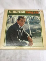 Al Martino Living A Lie Capitol LP vinyl album record - $10.00