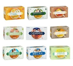 Tea Infusion Assortment Various Flavours Individual 18 Bags Spices of the World - $9.99