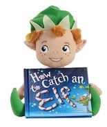 KOHLS CARE Holiday Plush Toy Rudolph Santa Elf with Hard Cover Book Kids... - $14.95