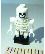 LEGO Skeleton bones minifigure  ghost skeleton zombie replacement - $6.88
