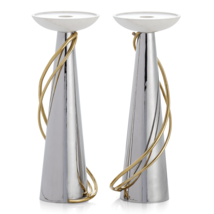 2 Michael Aram Calla Lily Candleholders- Brand New - $267.29