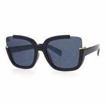 Womens Fashion Sunglasses Trendy Open Corners Square Frame UV 400 - $11.95