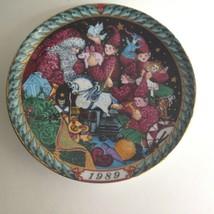 Santa Claus Collector Plate Bing Grondahl 1989 SANTA'S WORKSHOP First Ed... - $24.70