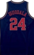 Andre Iguodala Arizona Wildcats College Basketball Jersey Navy Blue Any Size image 2