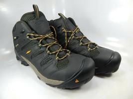 Keen Lansing Size 13 2E WIDE EU 47 Men's WP Steel Toe Work Shoes Black 1018079EE - $104.81