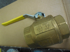 "Grinnell 171N Threaded Ball Valve With Handle 2"" New - $44.55"