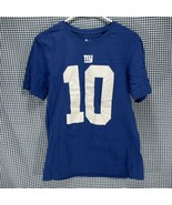 Nike NFL New York Giants Eli Manning T-Shirt Men's Size Medium  - $12.86