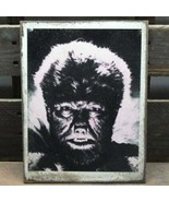 """11"""" The Wolfman Lon Chaney Horror wood sign pop ART Wood Vtg style Sign - $29.39"""