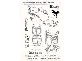 Clear Dollar Stamps Lean on Me Charlie Stamp Set #5832