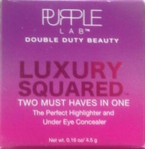 Purple Lab Luxury Squared The Perfect Highlighter & Under Eye Concealer ... - $12.85