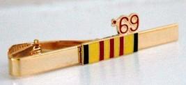 1969 Vietnam Ribbon Tie Clip  - $12.99