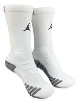 Nike Vapor Jordan Jumpman White/Black Crew Socks XL SX7012-100 - $19.99
