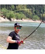 Super Hard Telescopic Fishing Rod Carbon Fiber 2.1-3.6M Spinning Pole Se... - $19.75+