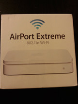 Apple AirPort Extreme Wireless N Router 5th Gen, MD031LL/A (Worldwide Shipping) - $197.99