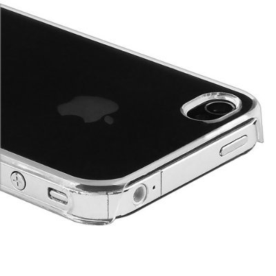 0.5mm Ultra Thin Crystal Case for the Apple iPhone 4 4S - Clear Transparent